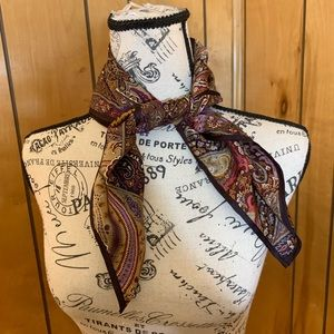 Echo 100% silk neck scarf